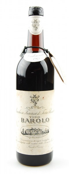 Wein 1968 Barolo Marchese Fracassi di Torre Rossano