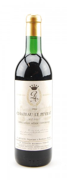 Wein 1964 Chateau Le Peyrat