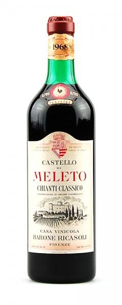 Wein 1968 Chianti Classico Castello di Meleto