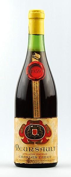Wein 1959 Meursault Charles Ninot