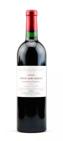 Wein 2002 Chateau Moulin Saint-Georges Grand Cru