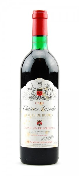 Wein 1986 Chateau Laroche Grand Vin de Bordeaux