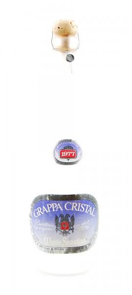 Grappa 1977 Cristal Monte Sabotino Zanin