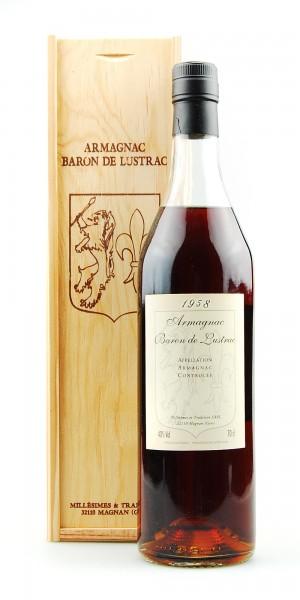 Armagnac 1958 Baron de Lustrac