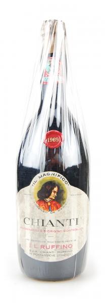 Wein 1969 Chianti Ruffino Il Magnifico