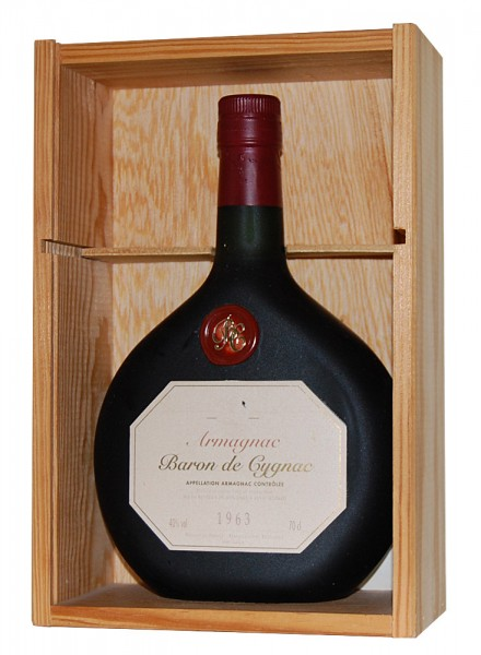 Armagnac 1963 Baron de Cygnac