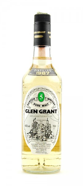 Whisky 1987 Glen Grant Highland Malt 5 years old