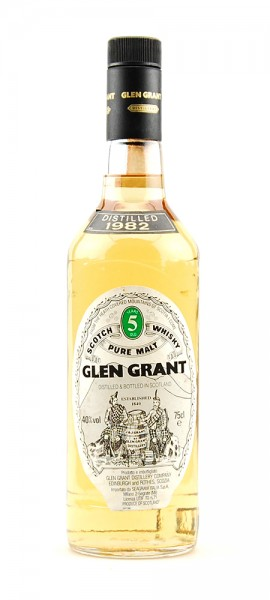 Whisky 1982 Glen Grant Highland Malt 5 years old