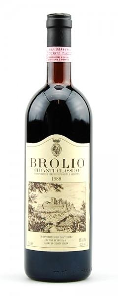 Wein 1988 Chianti Classico Brolio Riscasoli