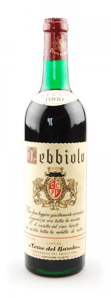Wein 1969 Nebbiolo Terre del Barolo