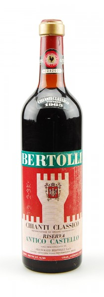 Wein 1965 Chianti Classico Riserva Bertolli