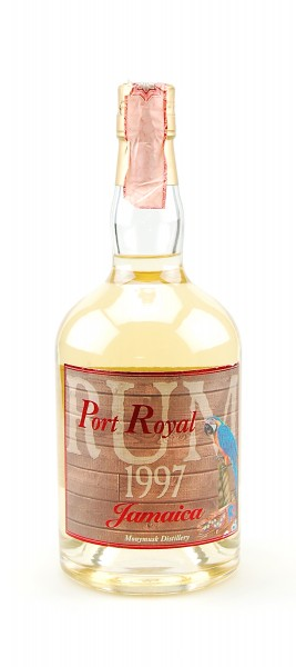 Rum 1997 Port Royal Monymusk Jamaica