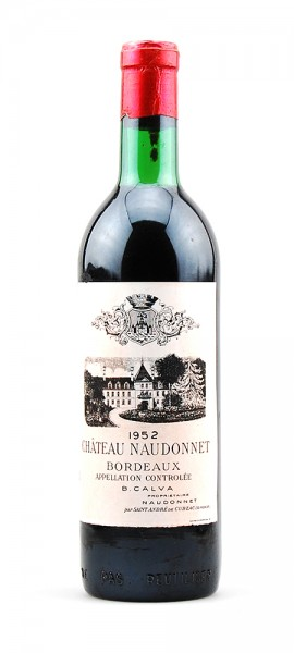 Wein 1952 Chateau Naudonnet