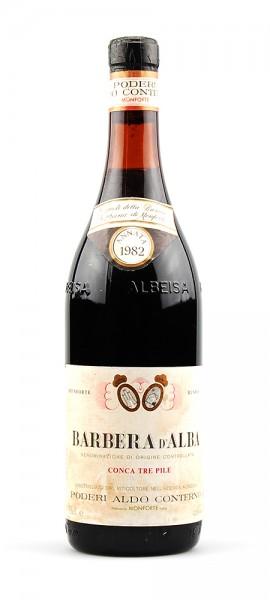 Wein 1982 Barbera d´Alba Conca tre Pile Conterno