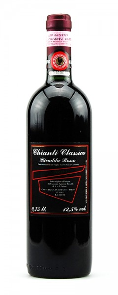 Wein 2000 Chianti Classico Ricudda Rosso