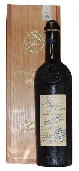 Cognac 1968 Lheraud Bons Bois in Holzkiste