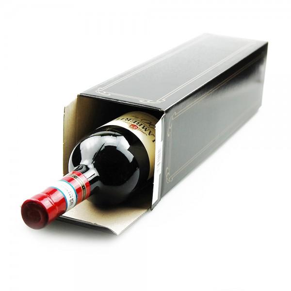 Faltschachtel für 1 Flasche Wein