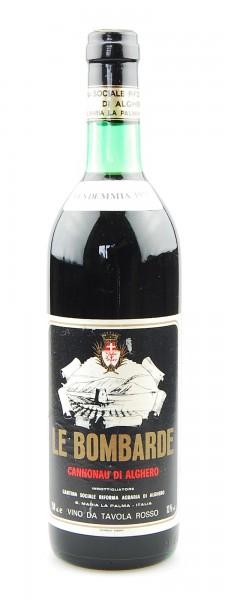 Wein 1978 Cannonau di Alghero Le Bombarde
