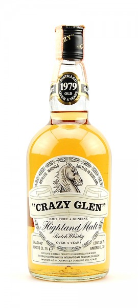 Whisky 1979 Crazy Glen Highland Malt 5 years old