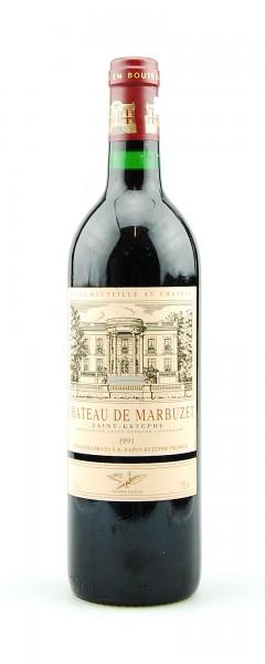 Wein 1991 Chateau de Marbuzet Saint-Estephe