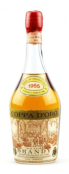Brandy 1955 Old Pale Brandy Coppa d´Oro Illva Saronno