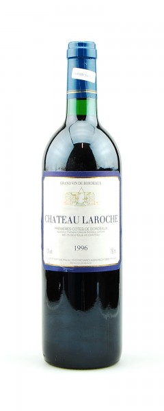 Wein 1996 Chateau Laroche Grand Vin de Bordeaux