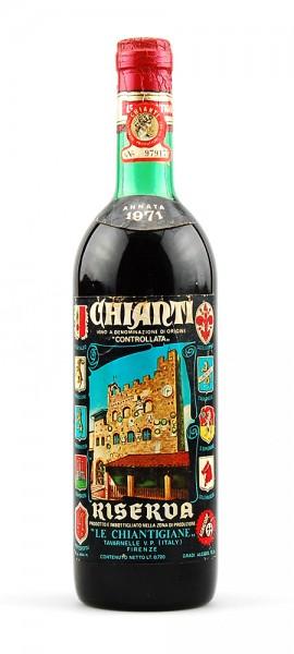 Wein 1971 Chianti Riserva Le Chiantigiane