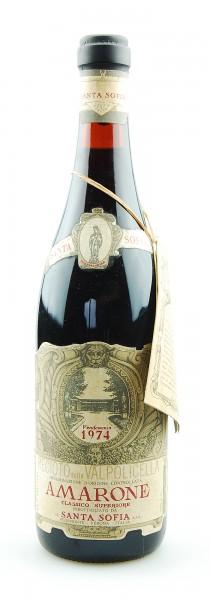Wein 1974 Amarone Santa Sofia Reciotto Valpolicella