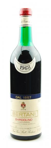 Wein 1968 Bardolino Bertani Classico Superiore