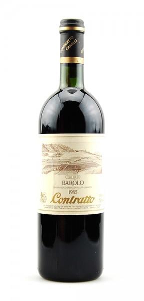Wein 1985 Barolo Cerequio Contratto