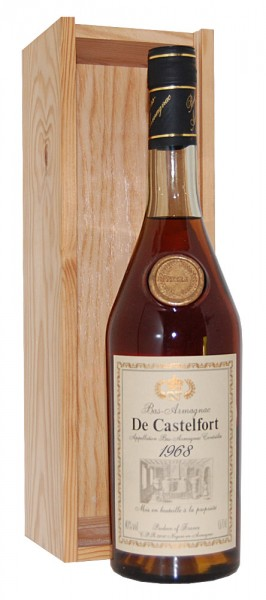Armagnac 1968 Bas-Armagnac de Castelfort