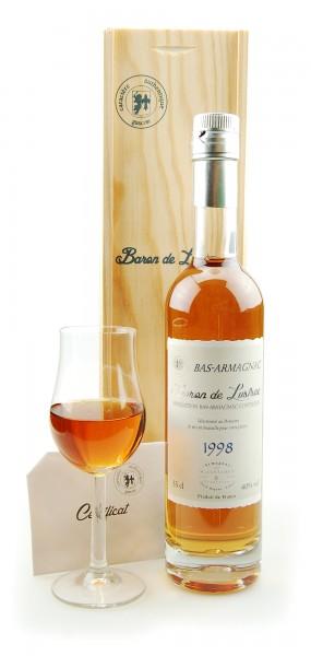 Armagnac 1998 Bas-Armagnac Baron de Lustrac