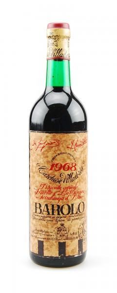 Wein 1968 Barolo Marchese Villadoria