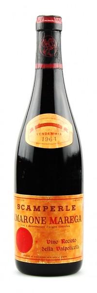 Wein 1964 Amarone Marega Scamperle