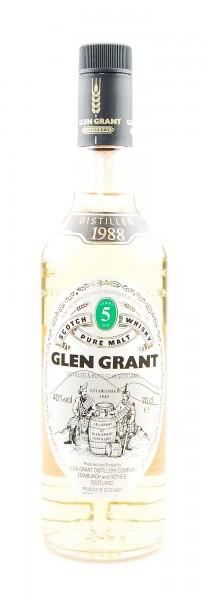 Whisky 1988 Glen Grant Highland Malt 5 years old