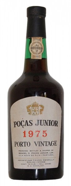 Portwein 1975 Pocas Junior Porto Vintage