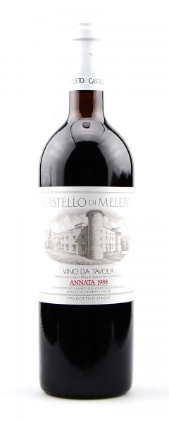 Wein 1988 Castello di Meleto Rosso dei Colli Toscana