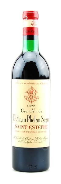 Wein 1972 Chateau Phelan Segur Cru Bourgeois