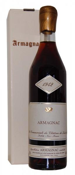Armagnac 1942 Armagnac Chateau de Laubade