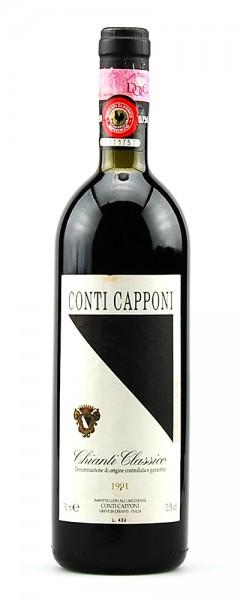 Wein 1991 Chianti Classico Conti Capponi
