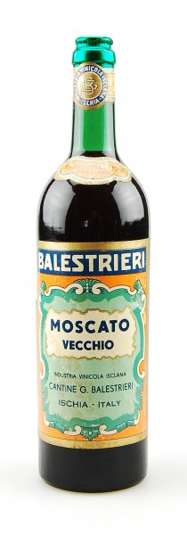 Wein 1947 Moscato Vecchio Balestrieri