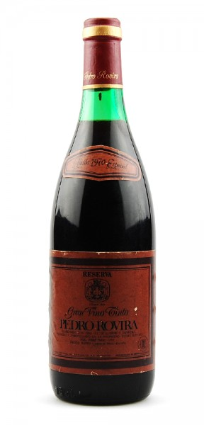 Wein 1970 Gran Vino Pedro Rovira Reserva