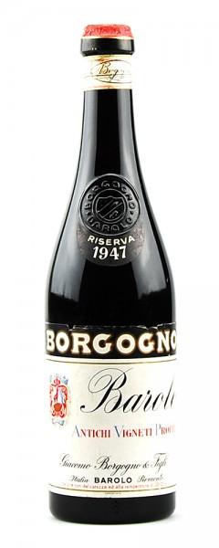 Wein 1947 Barolo Giacomo Borgogno Riserva