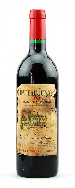 Wein 1989 Chateau Junayme Appelation Canon-Fronsac