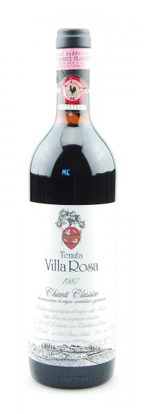 Wein 1987 Chianti Classico Tenuta Villa Rosa