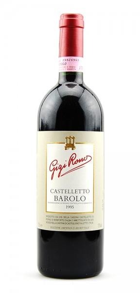 Wein 1995 Barolo Casteletto Gigi Rosso