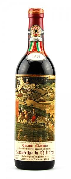 Wein 1981 Chianti Classico Riserva Nittardi