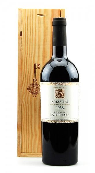 Wein 1958 Rivesaltes Domaine La Sobilane