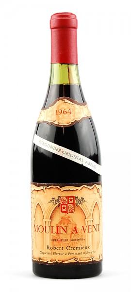 Wein 1964 Moulin-a-Vent R. Cremieux