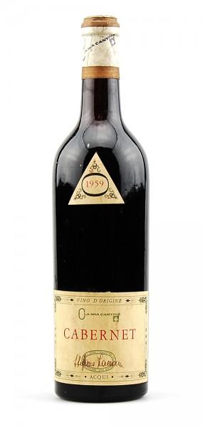 Wein 1959 Cabernet F.B. Acqui Ola Mia Cantina